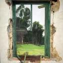 """""""ABANDONO"""", Óleo sobre lienzo -116 x 89 cm"""